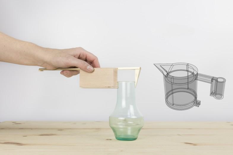 Wykorzystanie suwmiarki podczas projektowania. Źródło: http://pennywebb.co.uk/of-instruments-and-archetypes-2